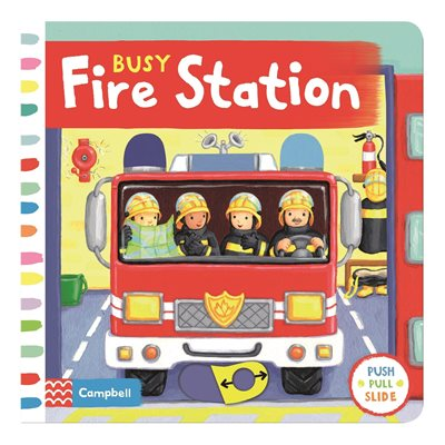 Book cover for Busy Fire Station